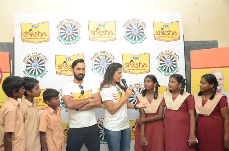 Dinesh Karthik and Dipika Pallikal together inspires people of Chennai to be Shiksha Superheroes http://www.chennaicitynews.net/news/dinesh-karthik-and-dipika-pallikal-together-inspires-people-of-chennai-to-be-shiksha-superheroes-24668/
