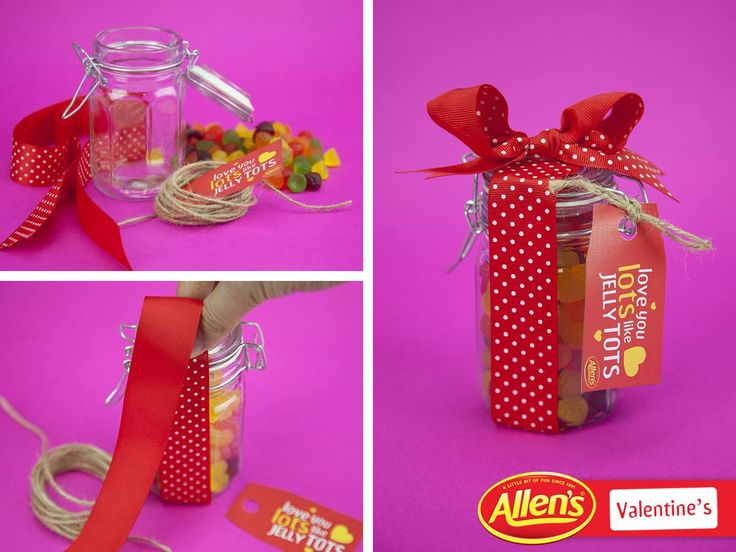 Share a jar of Jelly Tots With someone who loves you lots