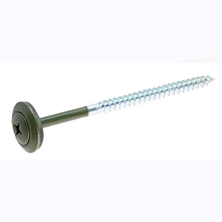 Roofing Screws Green (100 per box)