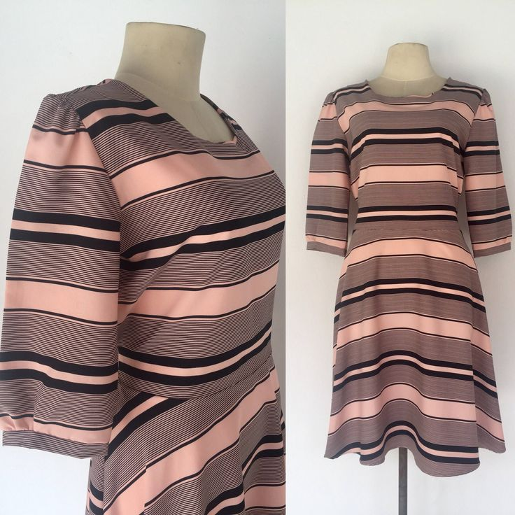 Excited to share the latest addition to my #etsy shop: Vintage 90s Pink Dress, Black Stripe Dress, Races, Wedding Outfit, Date Dress, Tea Party, Size 6 8 http://etsy.me/2CAT58p #clothing #women #dress #pink #black #vintage90sdress #pinkdress #blackstripydress #datedres