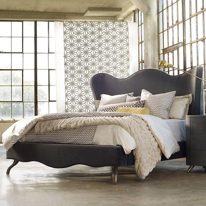 Quinley King Bed Hooker Furniture on Joss & Main