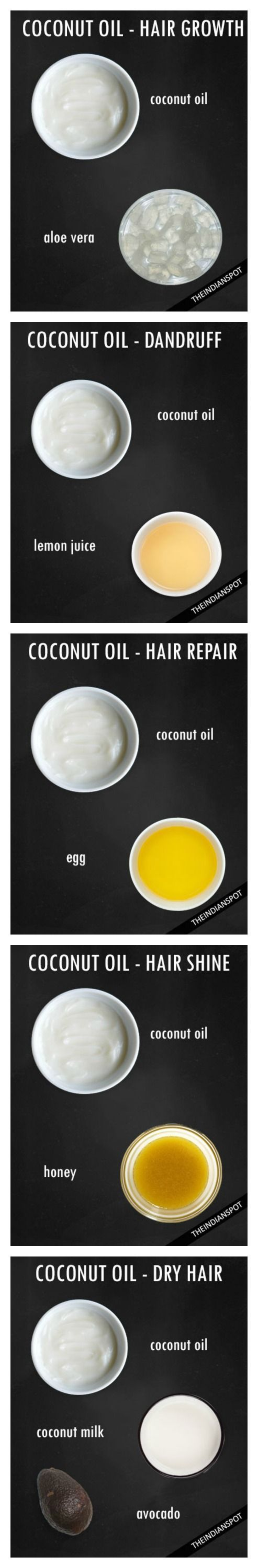 Coconut oil for your hair - Your online beauty store.