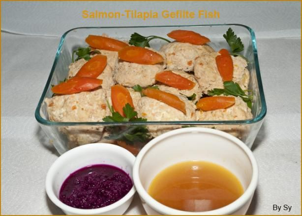 Difficult but worth it. Make your own Gefilte Fish. You'll never buy jarred again. #Passover