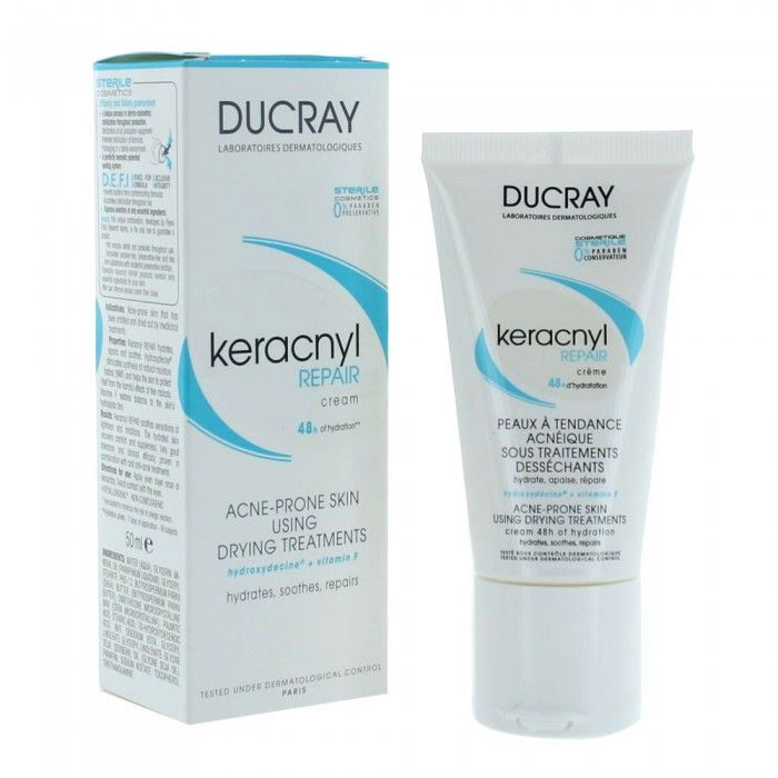 Ducray Keracnyl Repair Cream 50ml ::