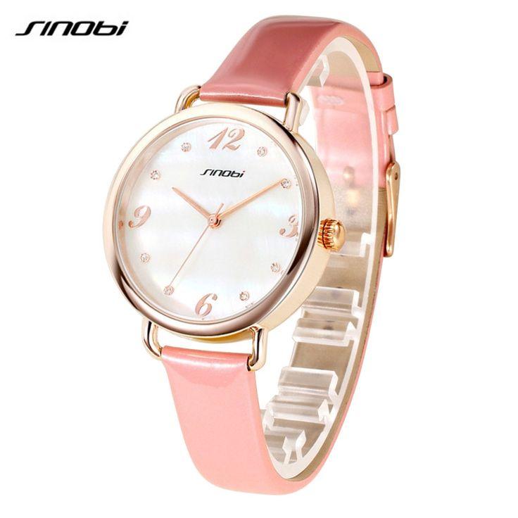 $18.36 (Buy here: https://alitems.com/g/1e8d114494ebda23ff8b16525dc3e8/?i=5&ulp=https%3A%2F%2Fwww.aliexpress.com%2Fitem%2FSINOBI-Fashion-Women-Watch-For-Luxury-Brand-Ladies-Rose-Gold-Wristwatch-Female-Quality-Clock-Minimalist-Montre%2F32700365875.html ) SINOBI Fashion Women Watch For Luxury Brand Ladies Rose Gold Wristwatch Female Quality Clock Minimalist Montre Feminine AB2186 for just $18.36