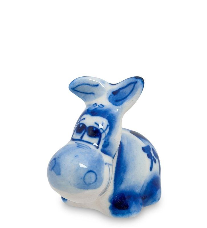 Фигурка «Ослик-Иа» ГЛ-233 (Гжельский фарфор)      Страна производства: Россия;   Материал: фарфор;   Длина: 4,5 см;   Ширина: 3 см;   Высота: 4,5 см;   Вес: 0,02 кг;          #porcelain #Gzhel #figurines #statuette #handmade #handpainted #фигурка #фигурки #статуэтки #фарфор #Гжель #ручная #работа #ручнаяроспись #роспись #ослик