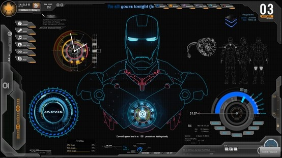 Tony Stark Iron Man Holographic Interface Sequence Iron Man Hd Wallpaper Iron Man Wallpaper Live Wallpaper For Pc