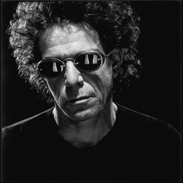 indypendent-thinking:  Lou Reed by Nigel Parry (via Music «Nigel Parry)