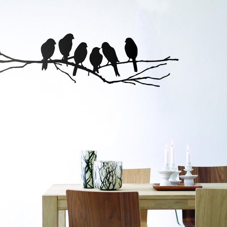 Lovebirds Wallsticker