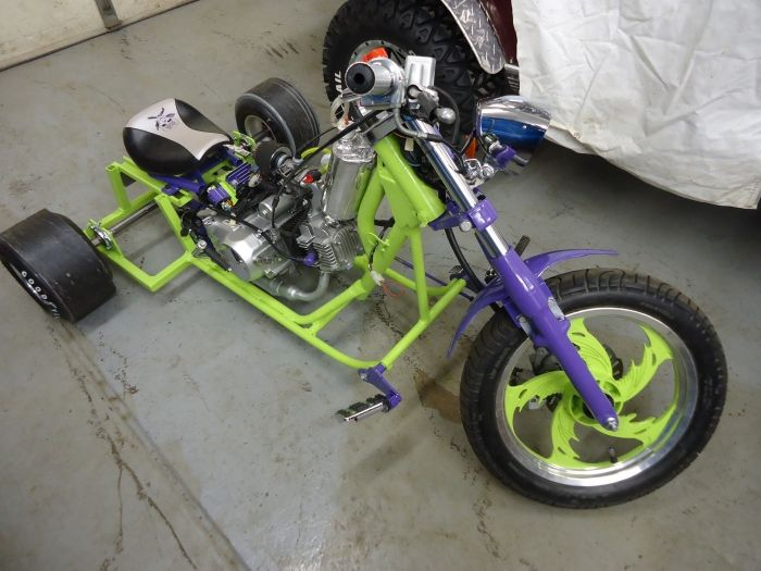 Miller - Welding Projects - Idea Gallery - Drift Trike