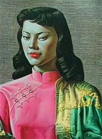 Miss Wong by Vladimir Tretchikoff
