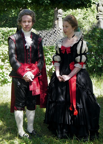 18th century weeks at Skansen by Johanni, via Flickr, the Swedish national dress.