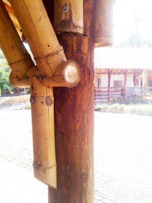 Uniones Estructurales con Bambú - Buscar con Google
