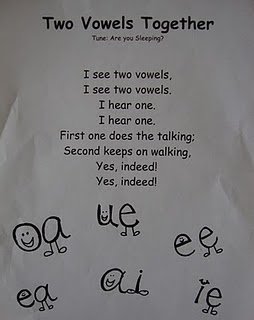 two vowels together song