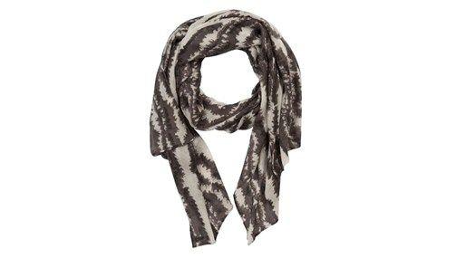 Stella Nova light wool scarf zebra