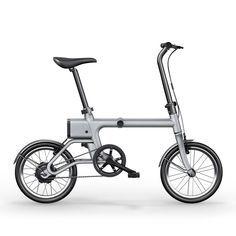 """Yunma potere pieghevole intelligente assistito 14.9kg bicicletta elettrica bicicletta elettrica leggera da 16 \""""120w 36v mini bici / 2.6ah batterie agli ioni di litio Vendita - Banggood.com"""
