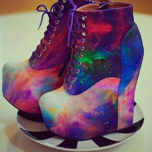 Galaxy Heels!!!♥