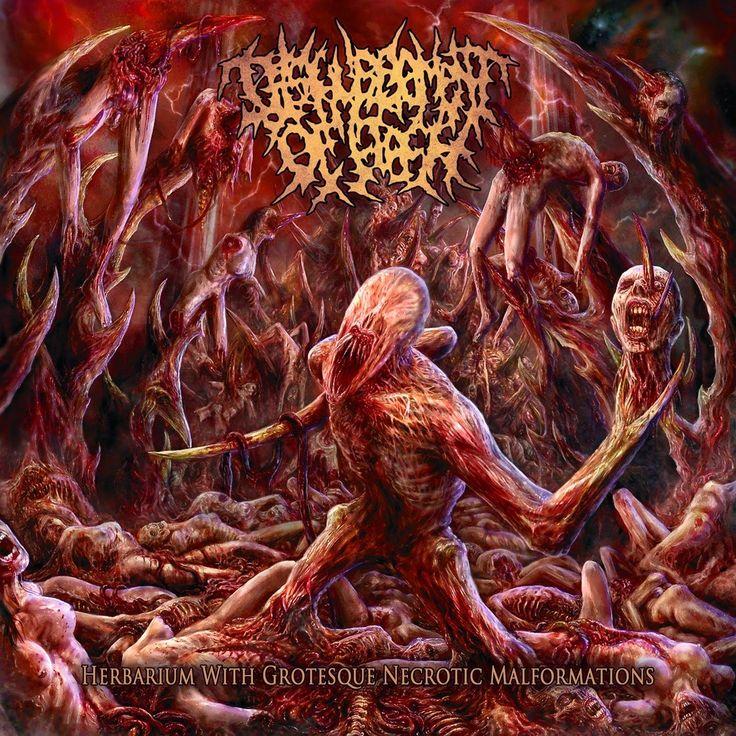 GERATHRASH - extreme metal: Disfigurement Of Flesh - Herbarium With Grotesque ...