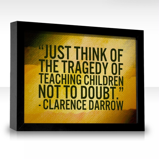 power of critical thinking quotes Education is not the learning of facts, but the training of the mind to think   critical thinking quote: francis bacon - read not to contradict and confute nor  to.