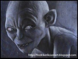 Gollum by FredrikEriksson1