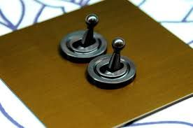 Antique Brass 1 Gang Architrave Toggle Light Switch - Google Search