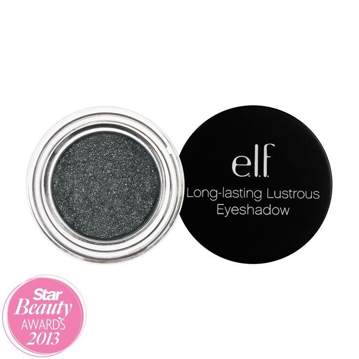 E.L.F. Studio Long-Lasting Lustrous Eyeshadow in Party #81147, $3.00