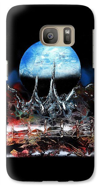 My Home Galaxy S7 Case Printed with Fine Art spray painting image My Home by Nandor Molnar (When you visit the Shop, change the orientation, background color and image size as you wish)