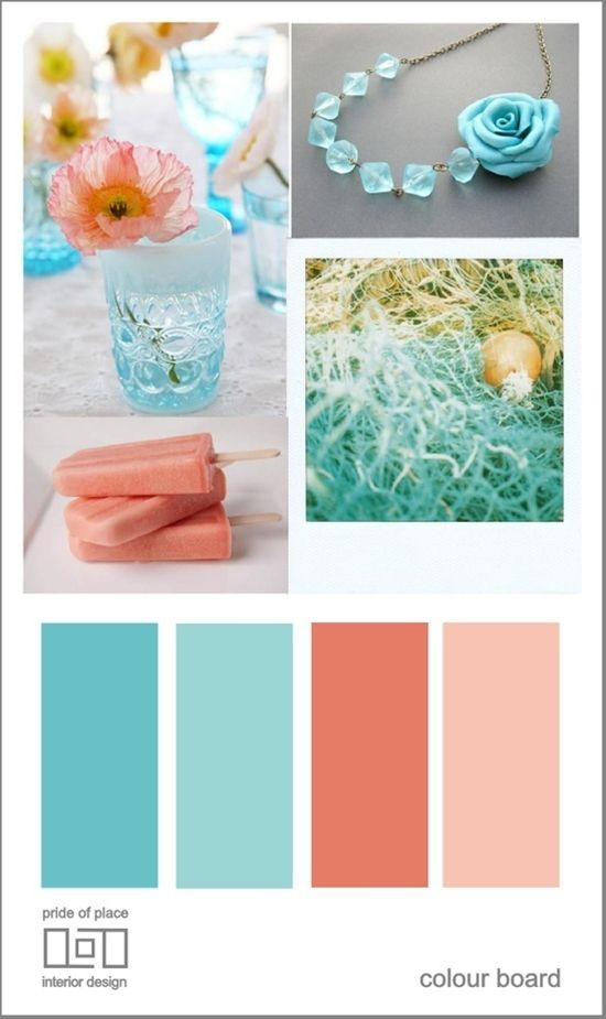 Beach Wedding Color Schemes The Day I Say Do Pinterest Colors And