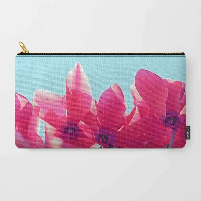 Buy Cyclamen blossom Carry-All Pouch by maryberg. Worldwide shipping available at Society6.com. Just one of millions of high quality products available.