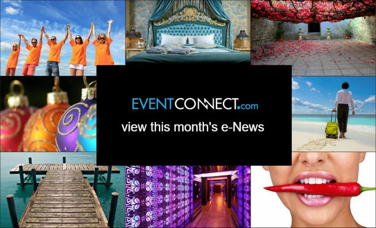 Your monthly inspiration, news and offers from destinations, hotels, venues and event suppliers