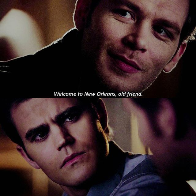 "#TVD 7x14 ""Moonlight on the Bayou"" - Klaus and Stefan"
