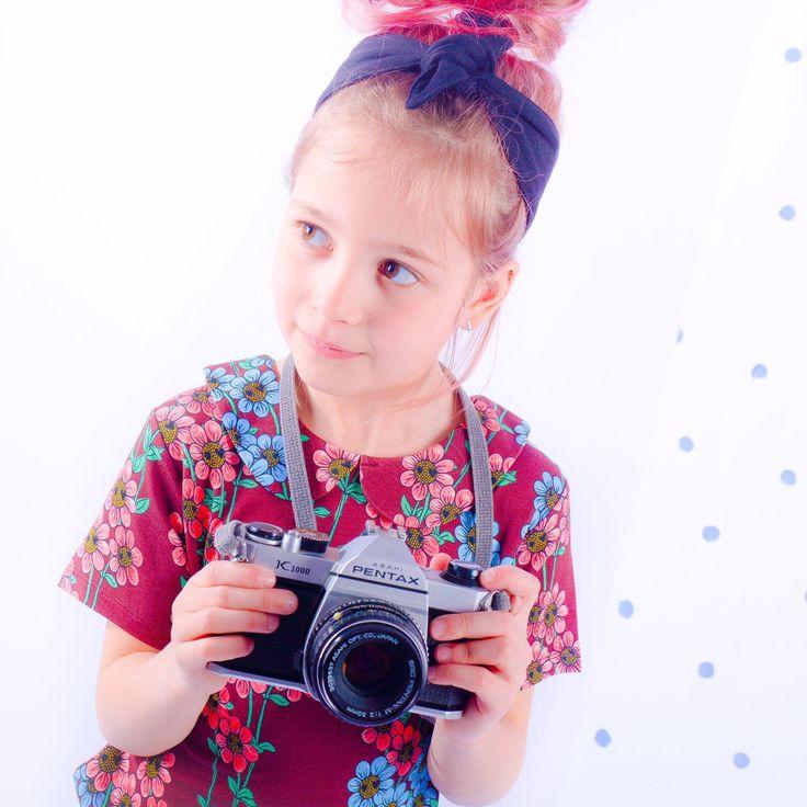 In love with Mini Rodini meisjes bloemen shirt 🌸