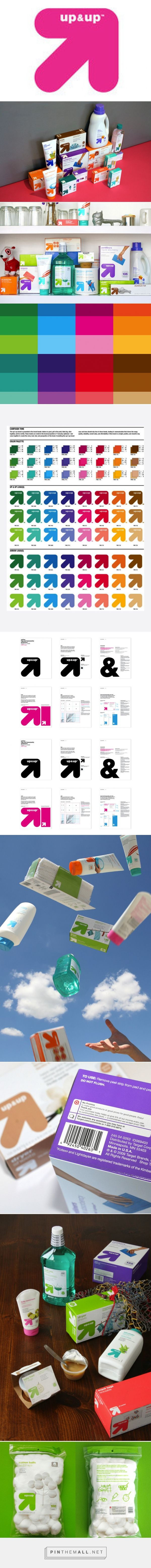 Target packaging branding by Wolff Olins curated by Packaging Diva PD. The behind the scenes story for up & up private label.