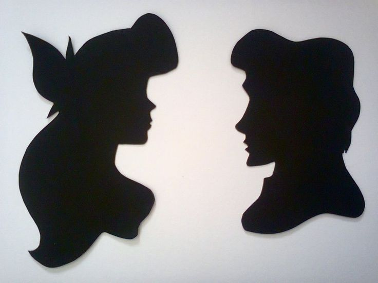 16 best Silhouette images on Pinterest Disney silhouettes