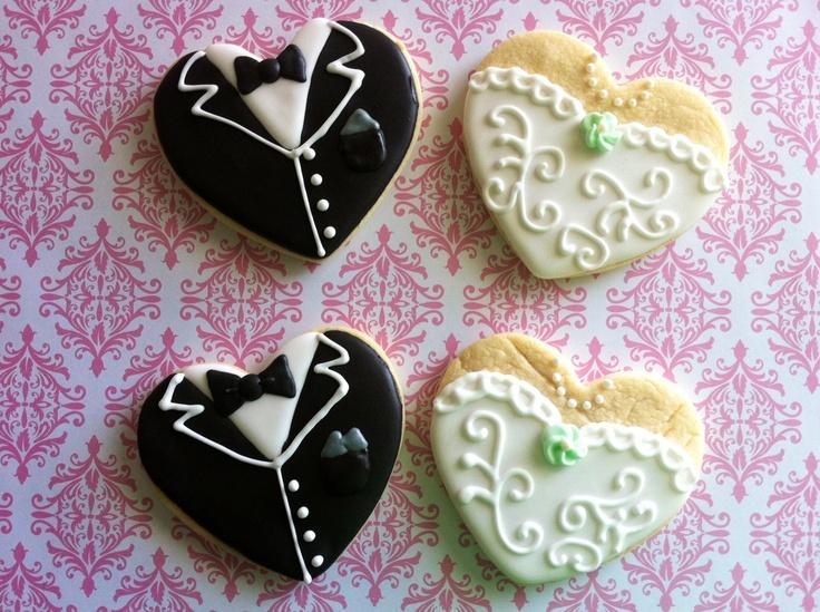 Wedding Sugar Cookies Bride cookies, Sugar cookies