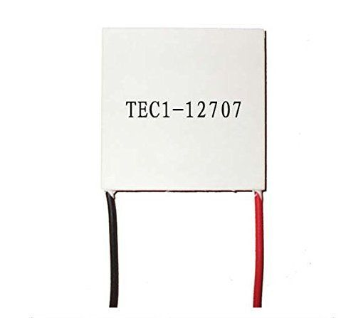 Pully TEC1-12707 12V 7A 40mm x 40mm Heatsink Thermoelectric Peltier Cooler Square Ceramic Thermoelectric Cooling Module Plate Power Generator //Price: $ & FREE Shipping  // #home #decor #interior #room #kitchen   #homesweethome #homedesign #myhome