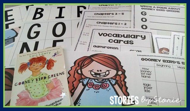 gooney bird greene writing activities