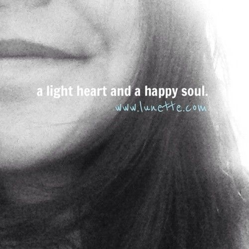 light heart and happy soul