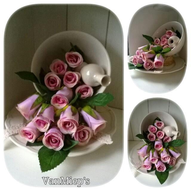 25 beste idee n over stoffen bloemen maken op pinterest linten bloem instructie stoffen - Decoratie schotel ...