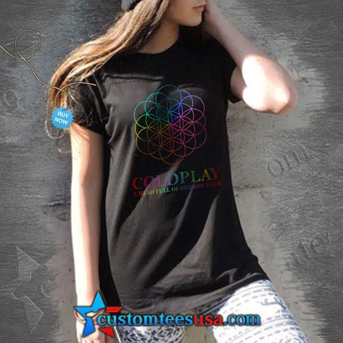 ColdPlay Band T Shirt – Adult Unisex Size S-3XL