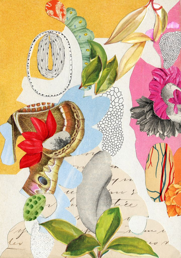 We are loving these collages by Valerie Roybal who currently lives and works inAlbuquerque. Her work is primarily inspired byvintage, salvaged, and colle