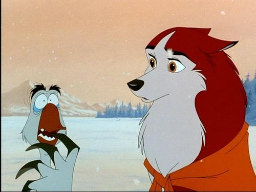 """I was so scared, I got people bumps!""-Balto most underrated movie and joke ever!!! I LOVE this movie"