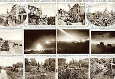 1944 ILLUSTRATED LONDON NEWS Normandy Offensive POLISH PILOTS Ardeatino (4945)