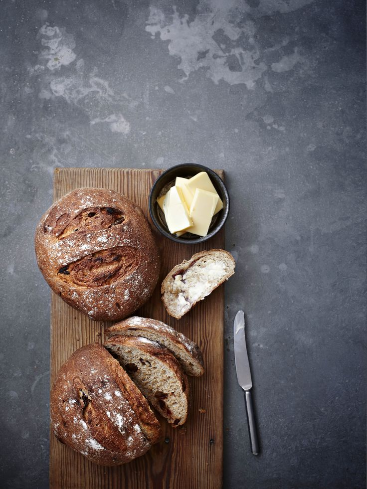 Date and rye bread: If you love making you own bread, this recipe is for you! The dark rye flour and sweet dates are a perfect pairing and this dark loaf goes brilliantly with cheese.