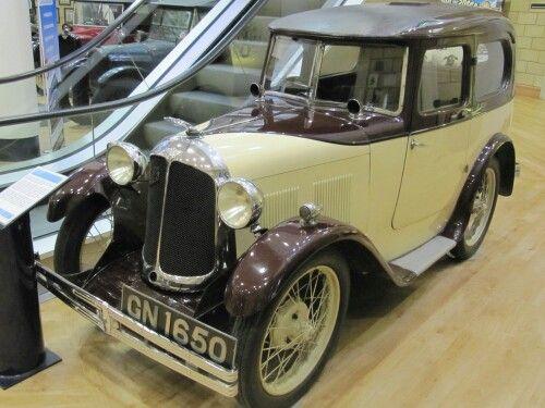 1931 Austin Seven Swallow at Gaydon Motor Museum