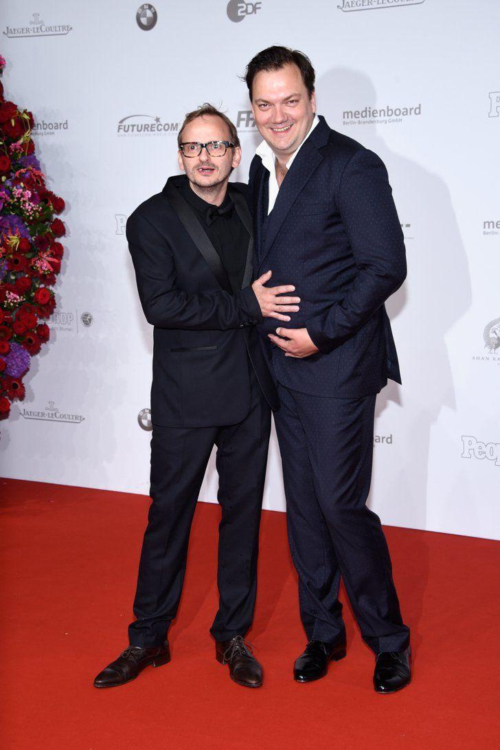 Pin for Later: Seht alle Stars beim Deutschen Filmpreis Milan Peschel und Charly Hübner