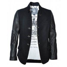 BOLONGARO TREVOR RAW ZIGGY JACKET (BLACK) - Jackets and Coats - Menswear