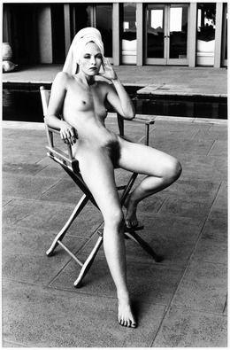 Helmut Newton, 'Miss Livingston (Sitting), Beverly Hills,' 1981, Hamiltons Gallery