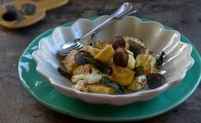 If you have time, this dish is much better with homemade gnocchi.