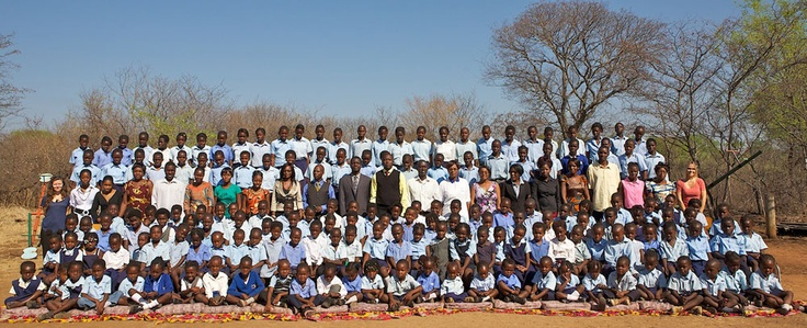 TUJATANE: The Tongabezi Trust School. Guests and friends of the Zambian safari lodge donate towards the education and upkeep of this special community school. You can too.